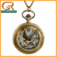 1267o Guangzhou Wholesale The Hunger Games Decorative Wedding Bird For Sale Large Outdoor Erotic Jewelry Antique Pocket Watches