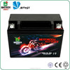 High Quality Batrex MF 12v Storage Motorcycle Battery for YB6.5-BS