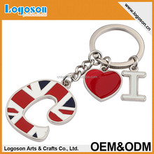 City design custom made london metal souvenir keychain