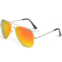 Polarized metal sunglasses pilot style 2015 newest models