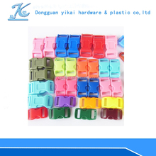 factory wholesale colored plastic side quick release buckle