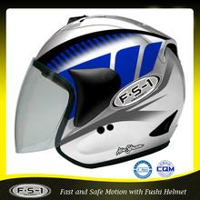 cheap blue abs open face motorcross helmet