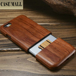 Novelty real wood case back cover for iphone 6, multi-color wood case for iphone 6
