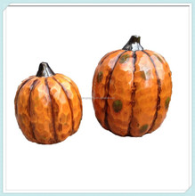Ceramic Pumpkins For Autumn Thanksgiving Table Centerpiece Decoration
