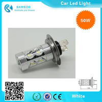 Auto Replacement White 50W car Led Headlight Fog Tuning Reverse Light