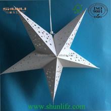 2015 celebrate decoration special design paper star lantern
