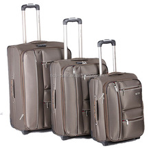 3 piece trolley luggage set with full lining