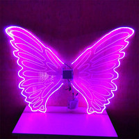 Full colors LED Wings / LED Light dance wings for stage performance