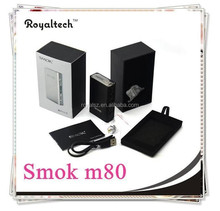 2015 hot selling box mod smok xpro m80 plus VV&VW MOD SMOK M80 4400Mah two built in batteries xpro m80 plus IN STOCK WHOLESALES