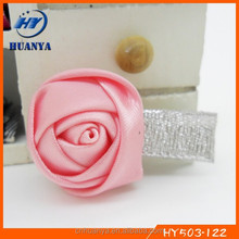 Latest Fashion Lovely Girls Stain Rose Flower Alligator Flower Hair Clip