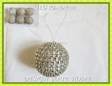 hanging balls in bag christmas tree ornament