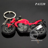 Rubber Keychains Motorcycle