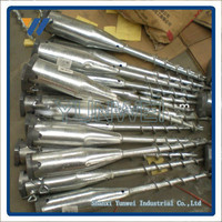 Factory of hot dipped galvanized ground screw anchor for solar mounting systerms with low price and high quality
