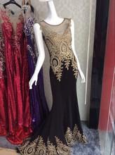 Latest cap sleeve Jewel Appliqued Mermaid Chiffon japanese prom dress 2015