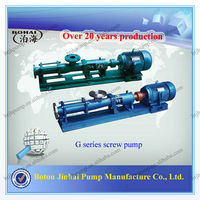 Factory direct sale!! Mono Screw Pump for slurry G series single screw pump