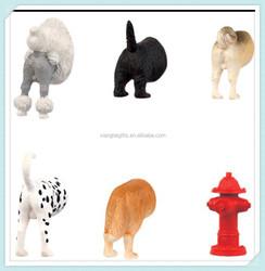 Resin animal butts promotional fridge magnet