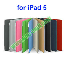 Super Hot Newest Ultrathin 4 Folio Leather Smart Case for iPad 6 and for iPad air2