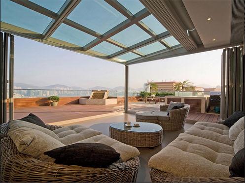 2014 sale balcony roof glass aluminum sunrooms design