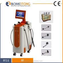Beauty industry first! Multi-polar radio frequency cosmetic treatment
