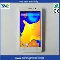 nueva llegada teléfono 5 pulgadas pantalla de los teléfonos celulares de smartphones