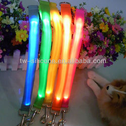 Bottom Price Nylon Led Light Dog Leashes Customized Dog Leashes
