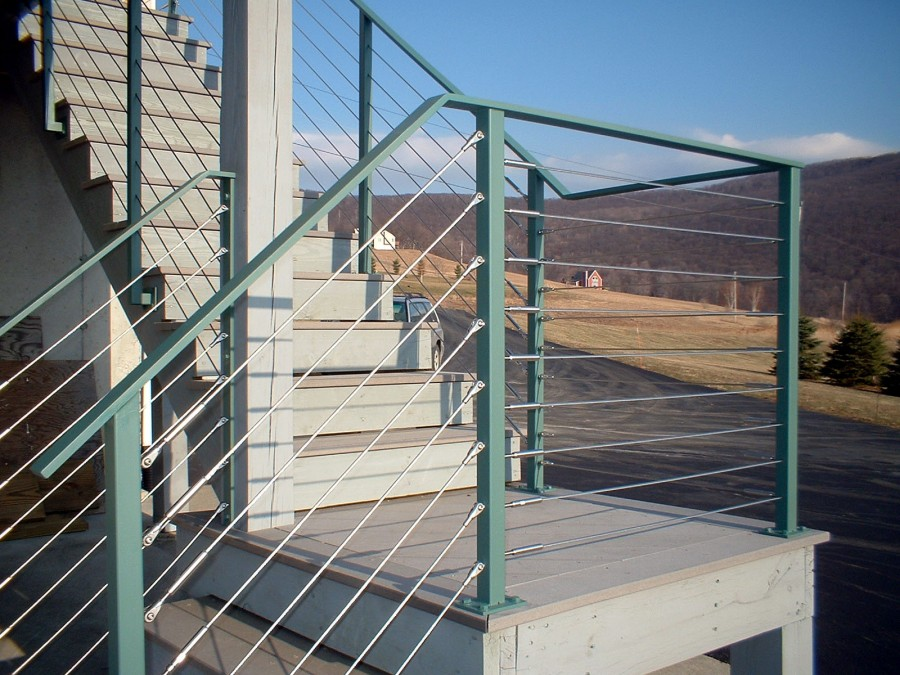 Out Door Balcony Stainless Steel Stair Cable Railing Design - Buy ...
