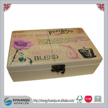 UV printing wooden essential oil box for 10Ml bottles