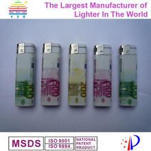 Plastic electronic bbq gas lighter