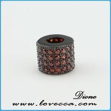 8*10mm New Stype Tube Micro Pave CZ Jewelry/Best Beads CZ Jewelry