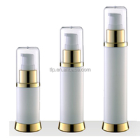 plastic cosmetic airless pump bottle