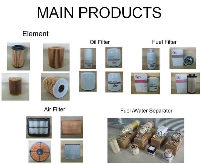 Guangdong factory direct price FUEL FILTER ELEMENT S2340-11682 suit for HINO