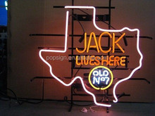 jack lives here neon sign