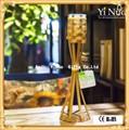 Coleção pessoal bamboo craft / suporte de vela de bambu / artes de bambu