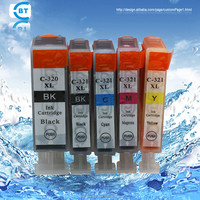 Compatible bci320 bci321 ink cartridge for japan market