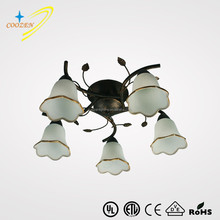 CZ80005B-5 best selling products decorative colored glass chandeliers