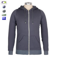 Good price hooded and high quality zipper hoody