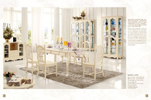 america style luxury elegant living room set dinner table and chair set