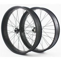 "2015 ORGE new arrival carbon fat bike wheelsets OG-WH100C T700 26"" snow bicycle wheelset clincher 100mm carbon bicycle wheels"