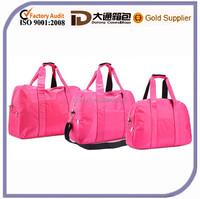 Hot Sale Nylon Colorful Waterproof Baby Diaper Nappy Bag Set Travel Shoulder Mummy Bag