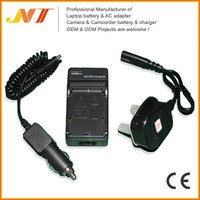 Video camcorder battery charger for JVC BN-VF808U battery charger.