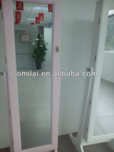 2012 fashion wooden wall mounted mirror cabine
