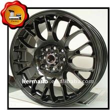 17*7inch, 45ET, 5*114.3mm Black Film Alloy Wheel with matt black