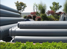 Underground PVC Material Water Supply PVC Pipe