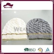 Fashion Winter Knitting Pattern Hat Scarf Gloves Sets