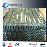 Fiber Cement Galvanized Roofing Steel Corrugated Sheet