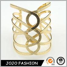 2014 encanto pulseras de oro plateado nuevo diseño de pulsera de las mujeres de moda al por mayor pulseras turco