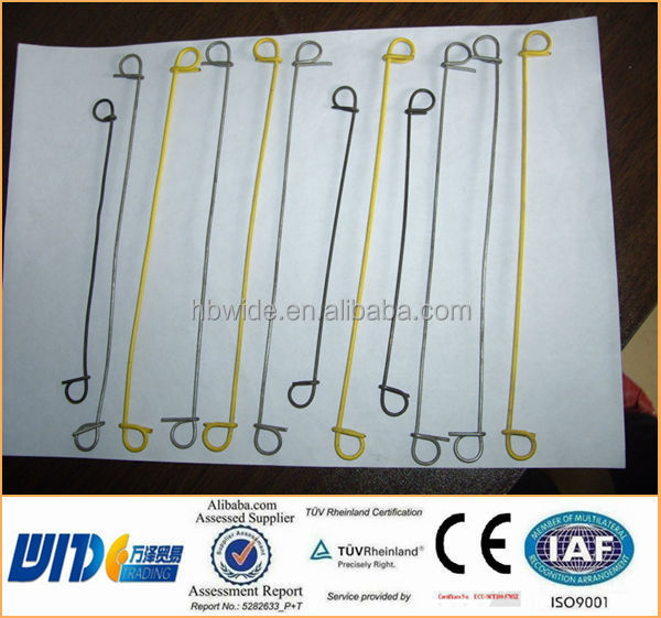 Galvanized Double Loop Wire Ties / Wire Lifting Loop / Stainless ...