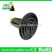 reptil de infrarrojos de cerámica de calor infrarrojo de la lámpara de la lámpara de calor