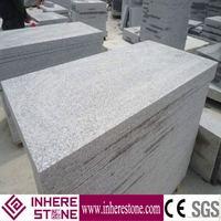 Exterior natural grey granite door thresholds