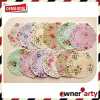 New Design And Food Safety Printing Paper Doilies